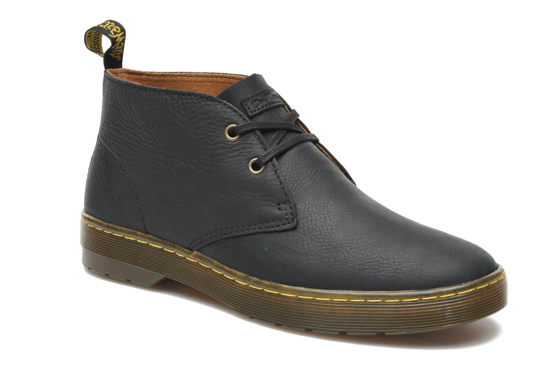 Snøresko Dr. Martens Cabrillo Sort detaljeret billede af skoene