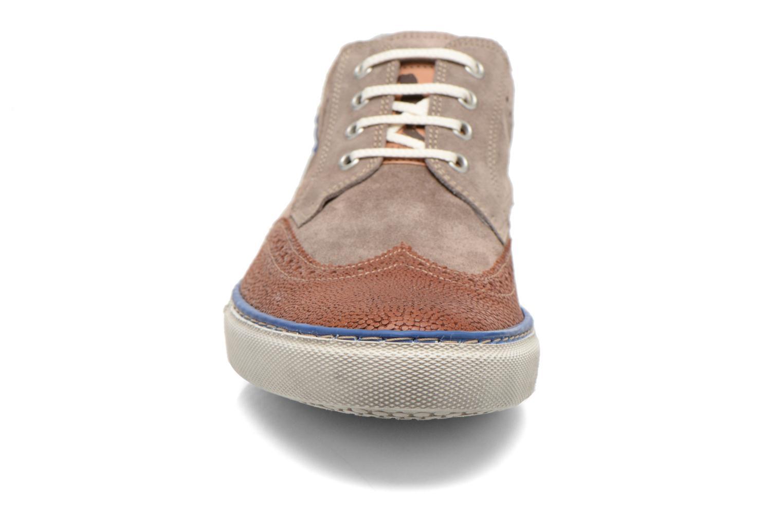 Baskets Floris Van Bommel Alfredo 17249 Gris vue portées chaussures