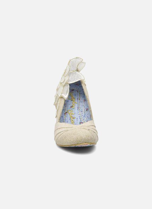 High heels Irregular choice Baby Love Beige model view