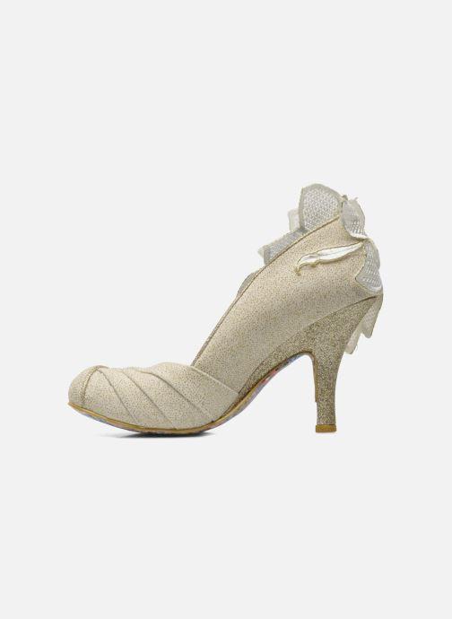 High heels Irregular choice Baby Love Beige front view