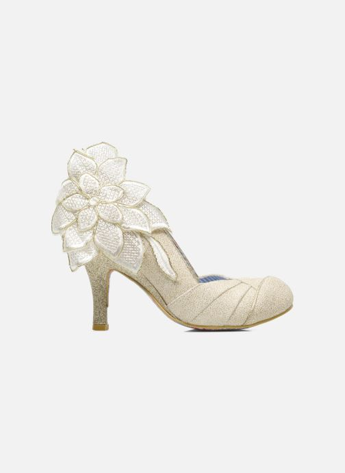 High heels Irregular choice Baby Love Beige back view