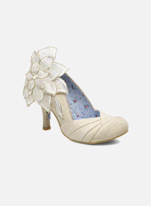 Høje hæle Irregular Choice Baby Love Beige detaljeret billede af skoene