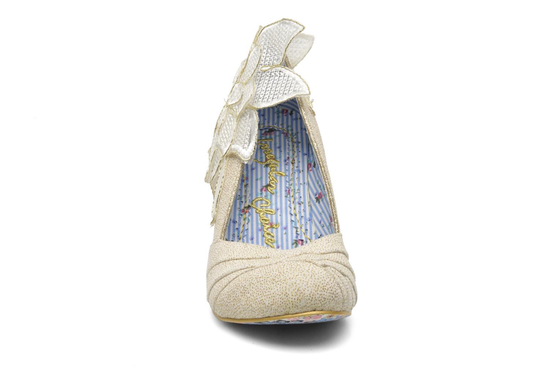 Escarpins Irregular Choice Baby Love Beige vue portées chaussures
