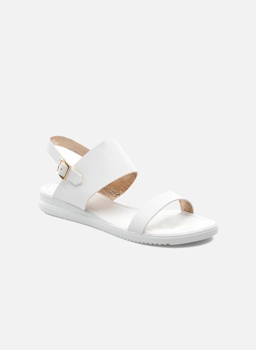 Sandales et nu-pieds Georgia Rose Jofou Blanc vue détail/paire
