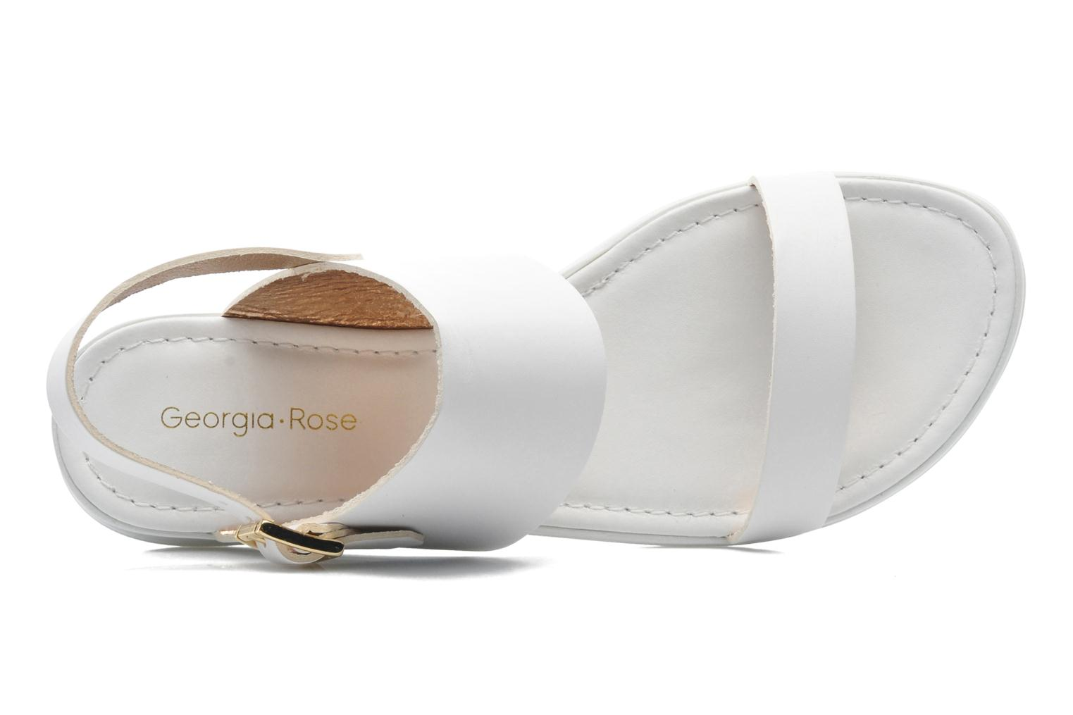 Sandals Georgia Rose Jofou White view from the left