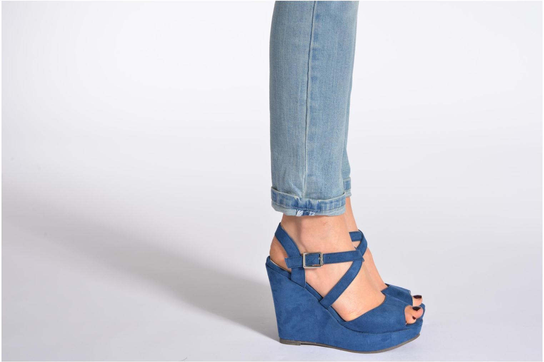 Sandales et nu-pieds Refresh Nolan-60761 Beige vue bas / vue portée sac