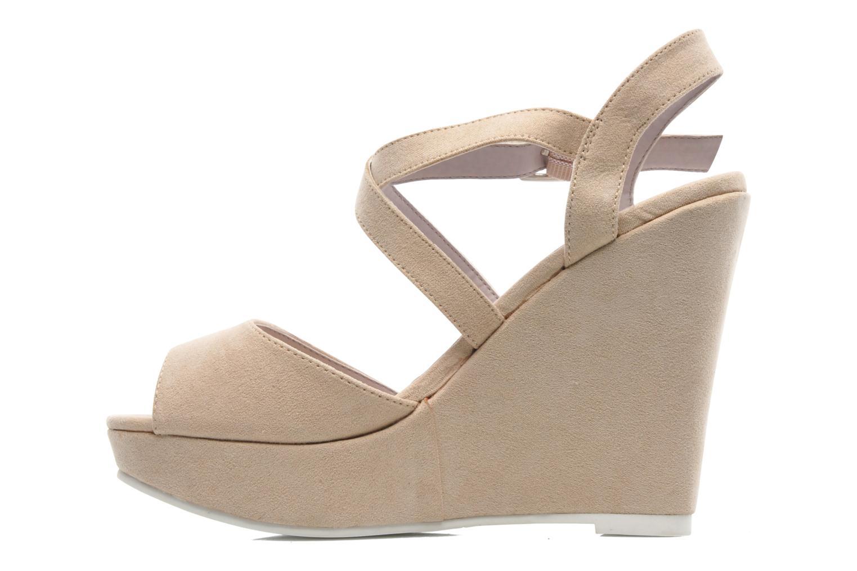 Sandales et nu-pieds Refresh Nolan-60761 Beige vue face