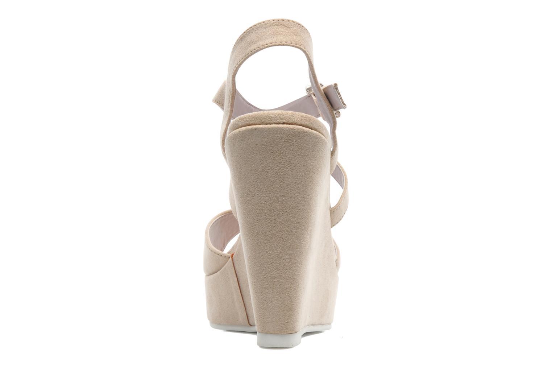 Sandales et nu-pieds Refresh Nolan-60761 Beige vue droite