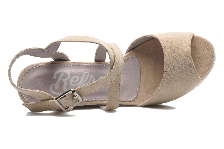 Sandales et nu-pieds Refresh Nolan-60761 Beige vue gauche