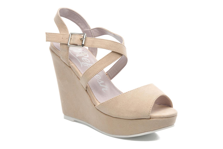 Sandales et nu-pieds Refresh Nolan-60761 Beige vue détail/paire