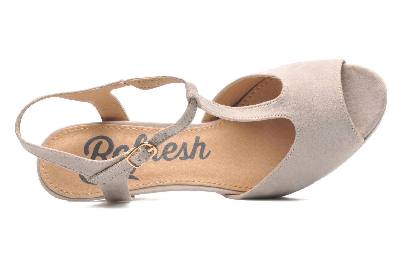 Sandales et nu-pieds Refresh Max-60514 Beige vue gauche
