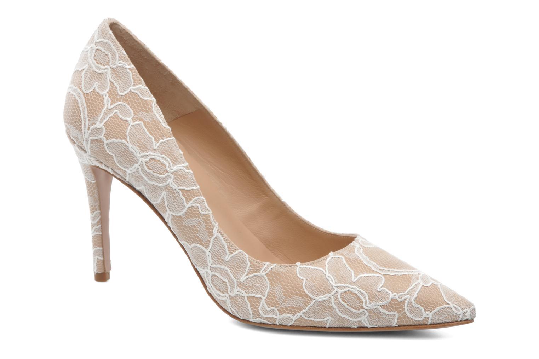 Zapatos de tacón Pura Lopez Escarpin mariée Beige vista de detalle / par