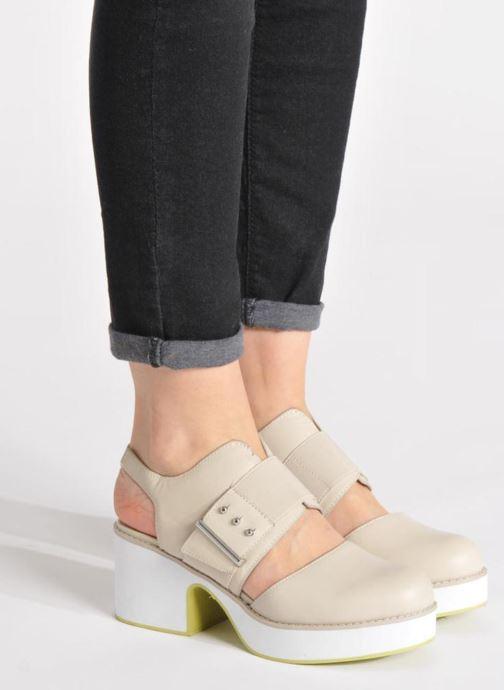 Sandali e scarpe aperte Shellys London Costain Nero immagine dal basso