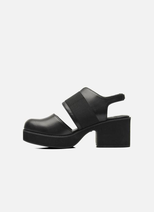 Sandali e scarpe aperte Shellys London Costain Nero immagine frontale