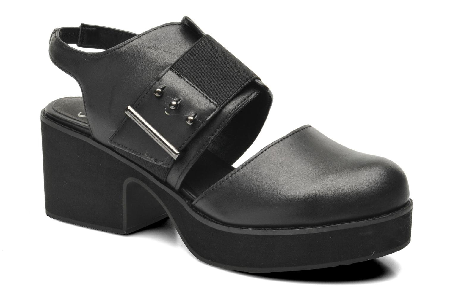 Sandalias Shellys London Costain Negro vista de detalle / par