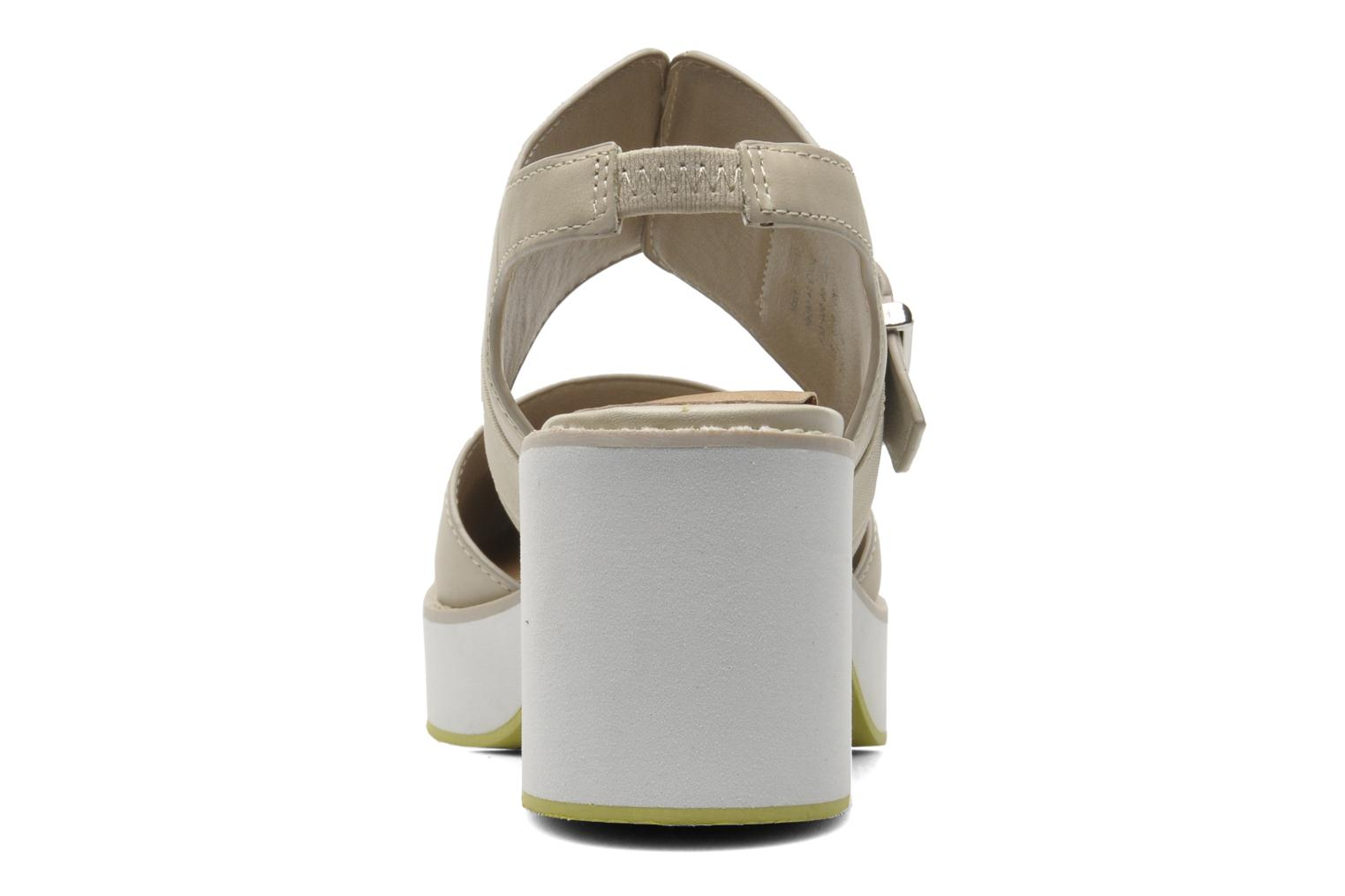Sandals Shellys London Costain Beige view from the right