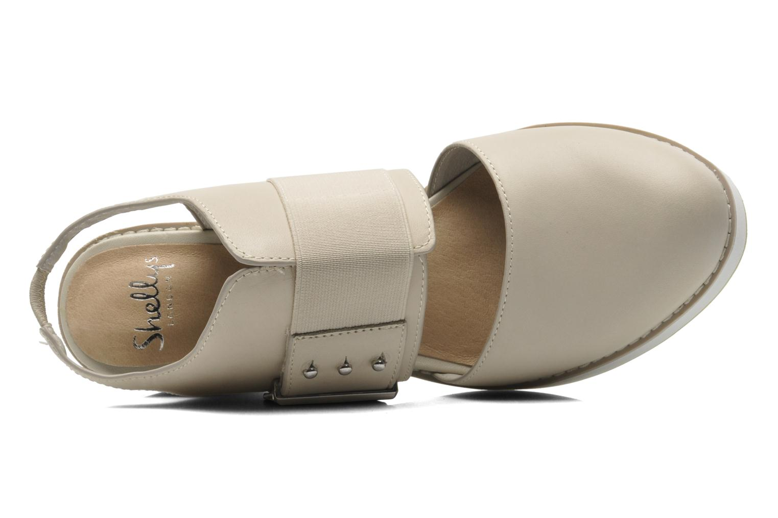 Sandals Shellys London Costain Beige view from the left