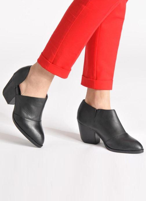 Bottines et boots Shellys London Anime Noir vue bas / vue portée sac