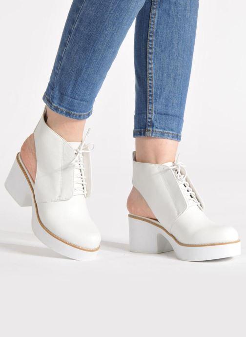 Stiefeletten & Boots Shellys London Michellton schwarz ansicht von unten / tasche getragen
