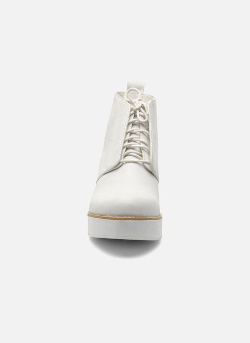 Stiefeletten & Boots Shellys London Michellton weiß schuhe getragen