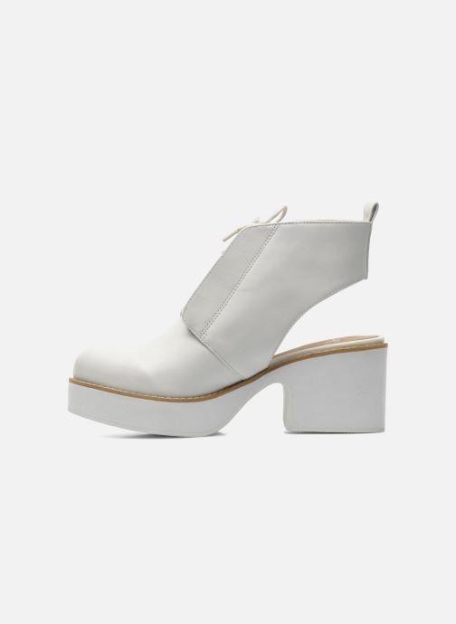 Bottines et boots Shellys London Michellton Blanc vue face