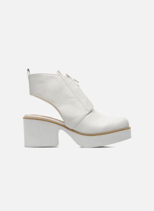 Stiefeletten & Boots Shellys London Michellton weiß ansicht von hinten