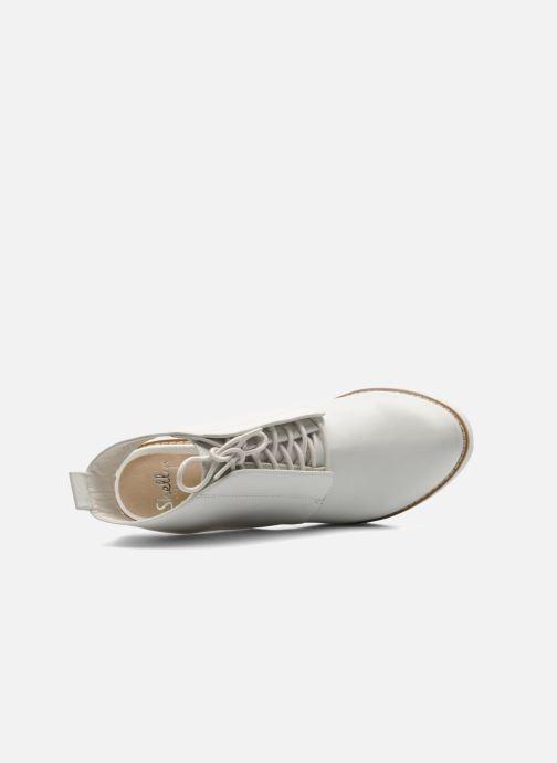 Stiefeletten & Boots Shellys London Michellton weiß ansicht von links