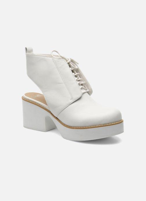 Stiefeletten & Boots Shellys London Michellton weiß detaillierte ansicht/modell