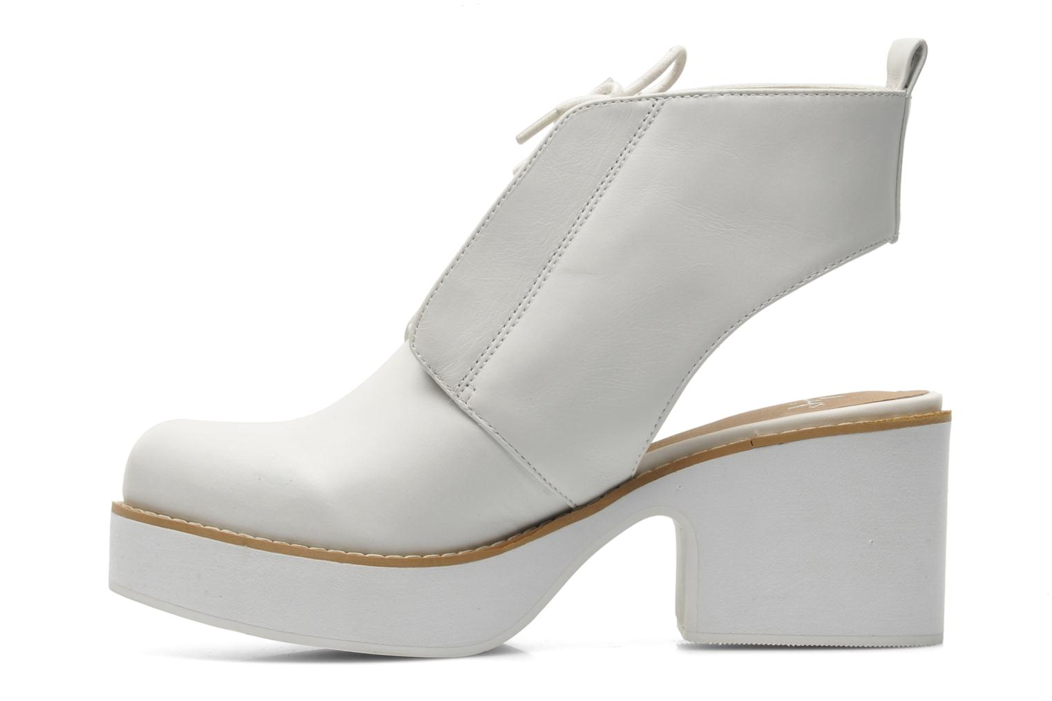 Ankle boots Shellys London Michellton White front view