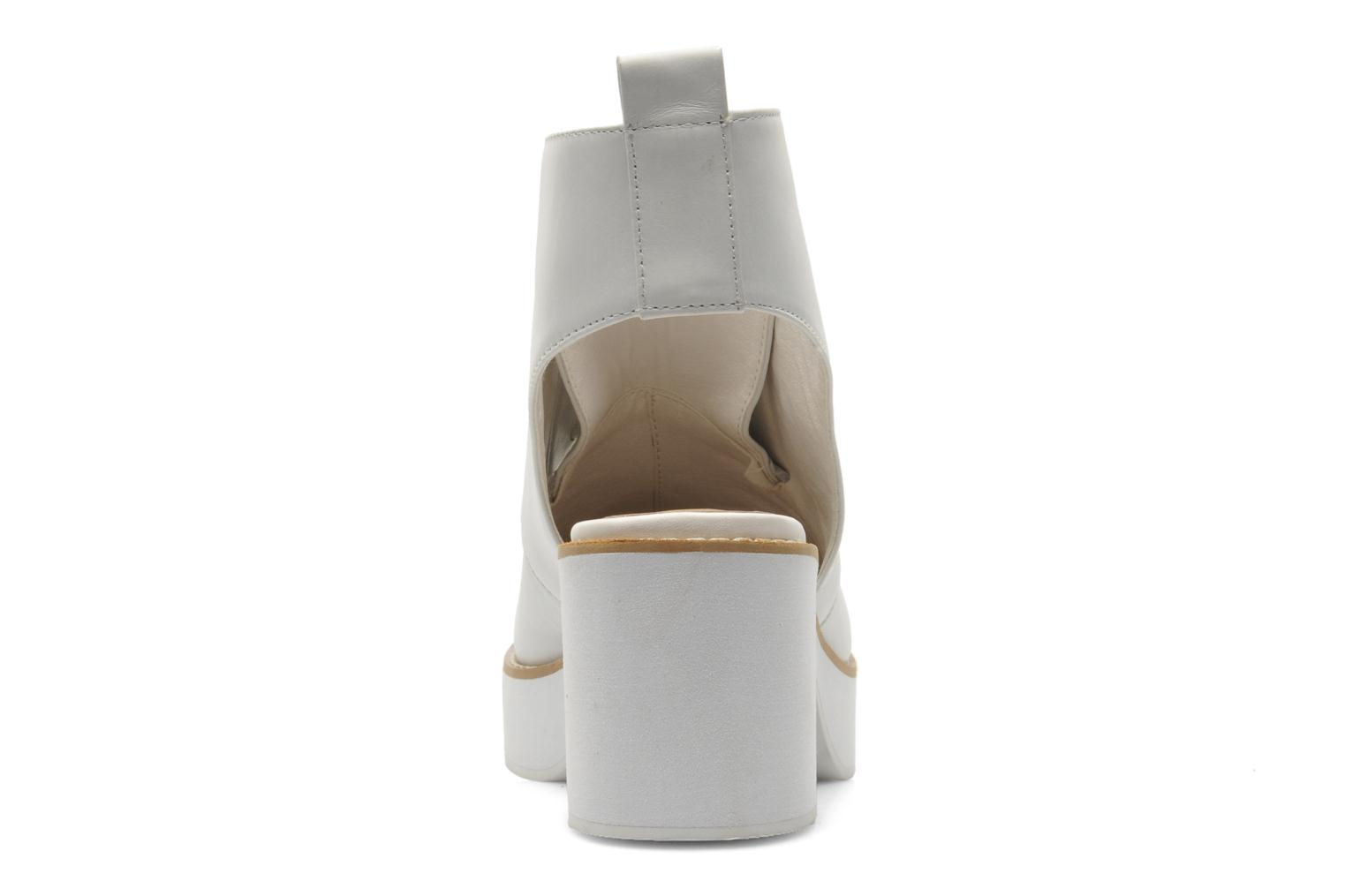 Ankle boots Shellys London Michellton White view from the right