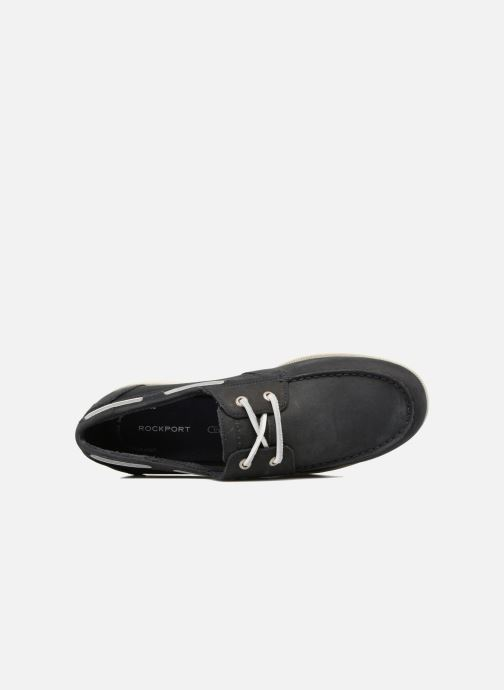 Chaussures à lacets Rockport 2-Eye Bleu vue gauche