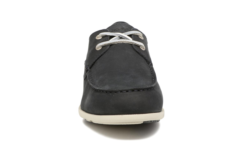 Chaussures à lacets Rockport 2-Eye Bleu vue portées chaussures
