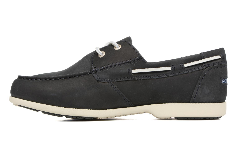 Chaussures à lacets Rockport 2-Eye Bleu vue face