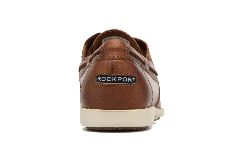 Chaussures à lacets Rockport 2-Eye Marron vue droite