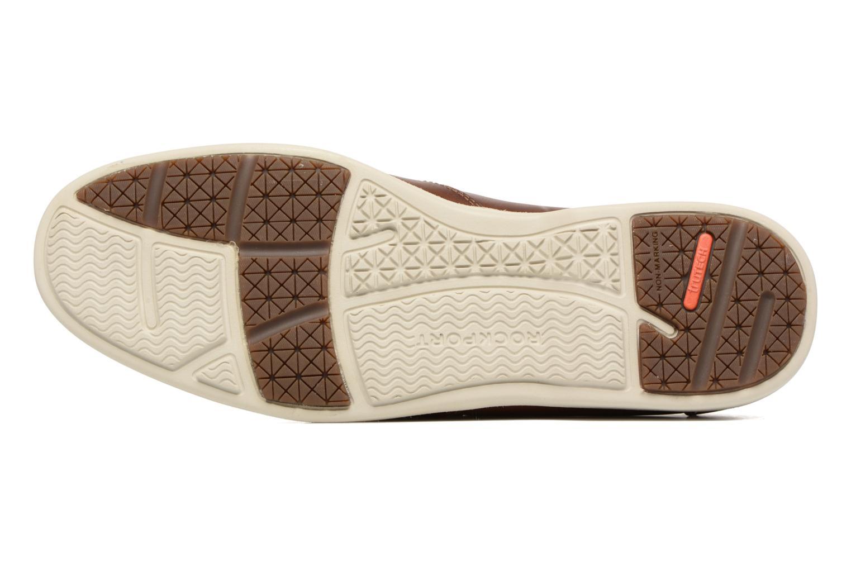 Chaussures à lacets Rockport 2-Eye Marron vue haut
