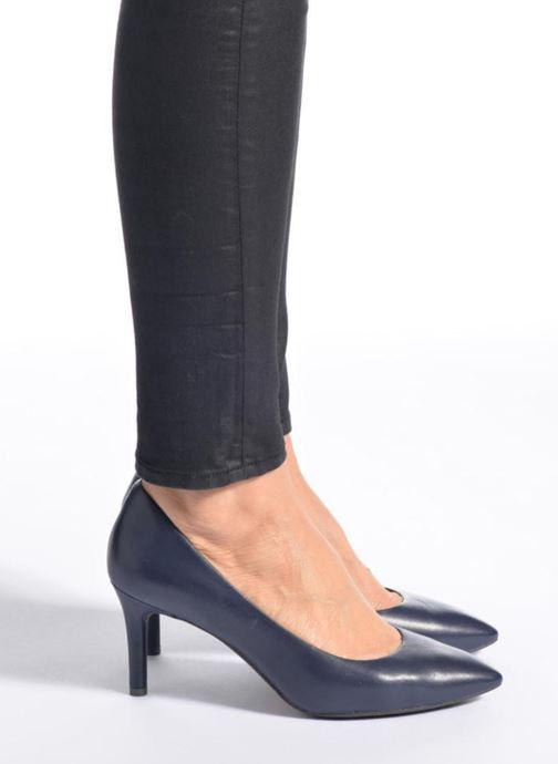 High heels Rockport TM75MMPTH Plain Pump C Black view from underneath / model view