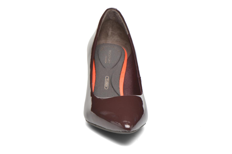 Escarpins Rockport TM75MMPTH Plain Pump Rouge vue portées chaussures