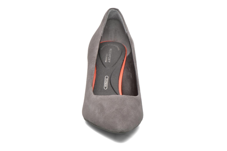 Escarpins Rockport TM75MMPTH Plain Pump Gris vue portées chaussures