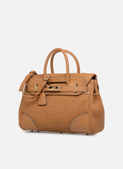Handbags Mac Douglas BRYAN Pyla XS Brown model view