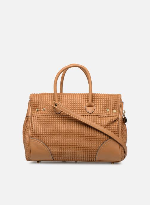 Handbags Mac Douglas BRYAN Pyla XS Brown front view