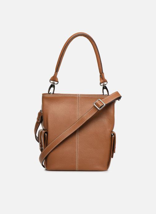 Handtaschen Mac Douglas VESUVIO Mégalo S braun ansicht von vorne