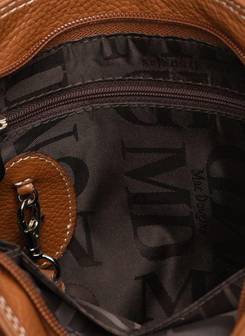 Handtaschen Mac Douglas VESUVIO Mégalo S braun ansicht von hinten