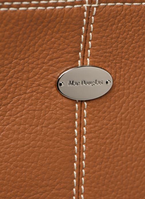 Handtaschen Mac Douglas VESUVIO Mégalo S braun ansicht von links