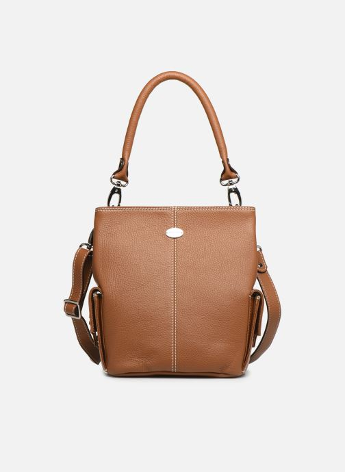 Handtaschen Mac Douglas VESUVIO Mégalo S braun detaillierte ansicht/modell