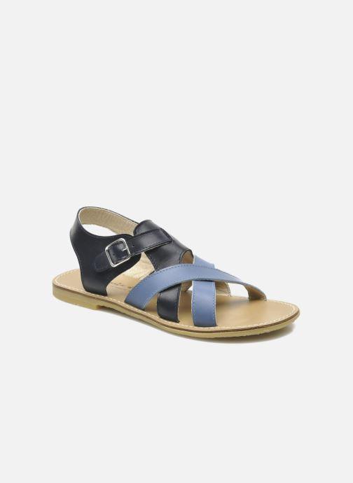 Sandales et nu-pieds Manuela de Juan Ben Bleu vue détail/paire