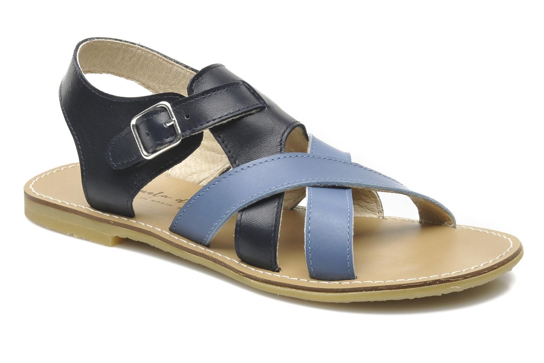 Sandalen Manuela de Juan Ben blau detaillierte ansicht/modell