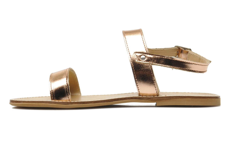 Sandals Manuela de Juan Helena Pink front view