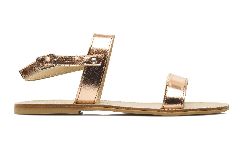 Sandals Manuela de Juan Helena Pink back view
