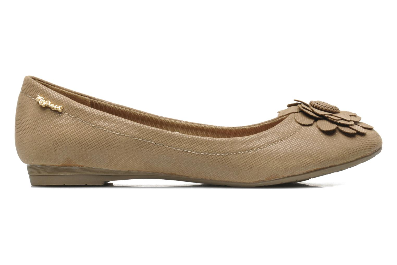 Ballet pumps Refresh Kourwato 2 Beige back view