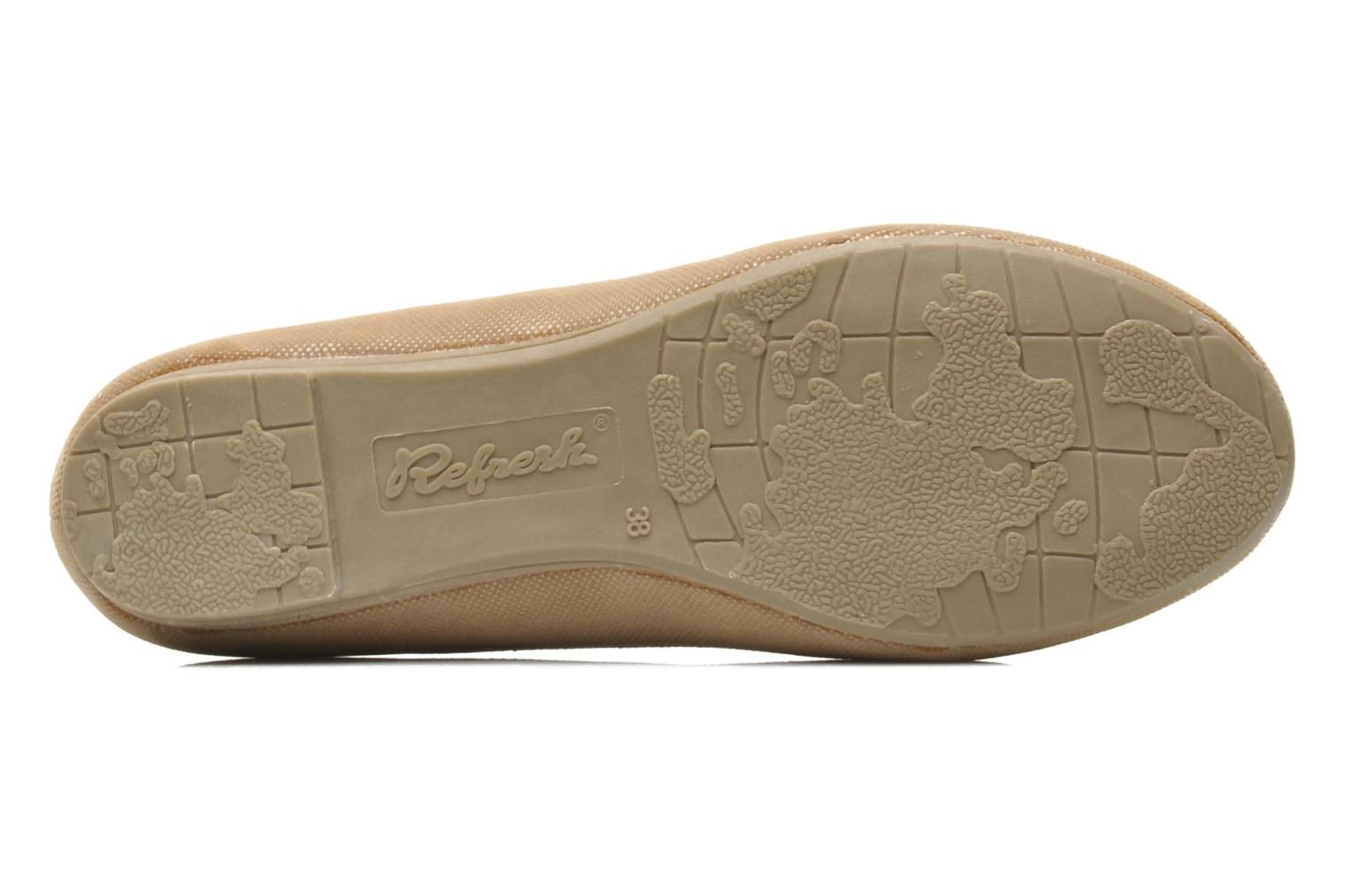 Ballet pumps Refresh Kourwato 2 Beige view from above